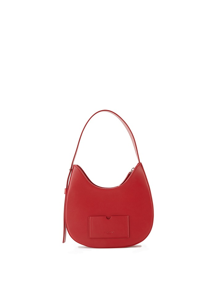 DROP HOBO BAG MINI(CHERRY JAM)
