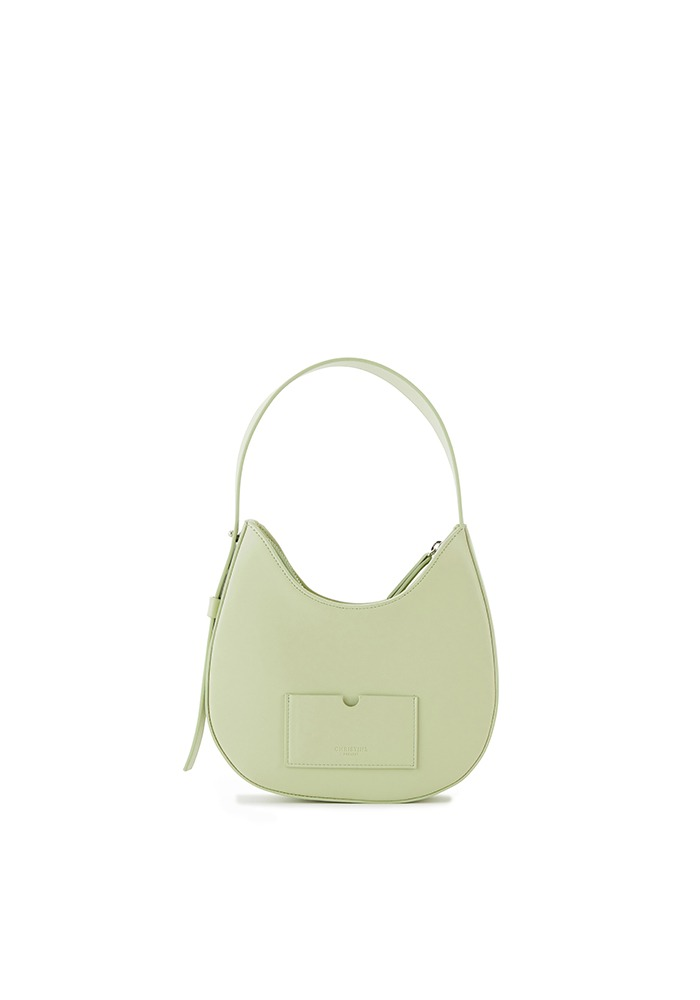 DROP HOBO BAG MINI(CREAM MINT)