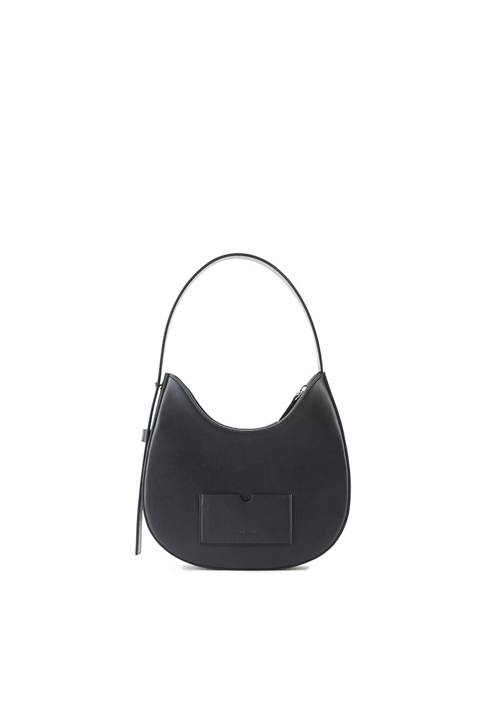 DROP HOBO BAG MINI(BLACK PEPPER)