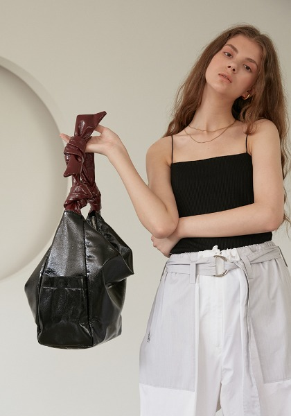 REBORN BAG(ECO PATENT LEATHER)