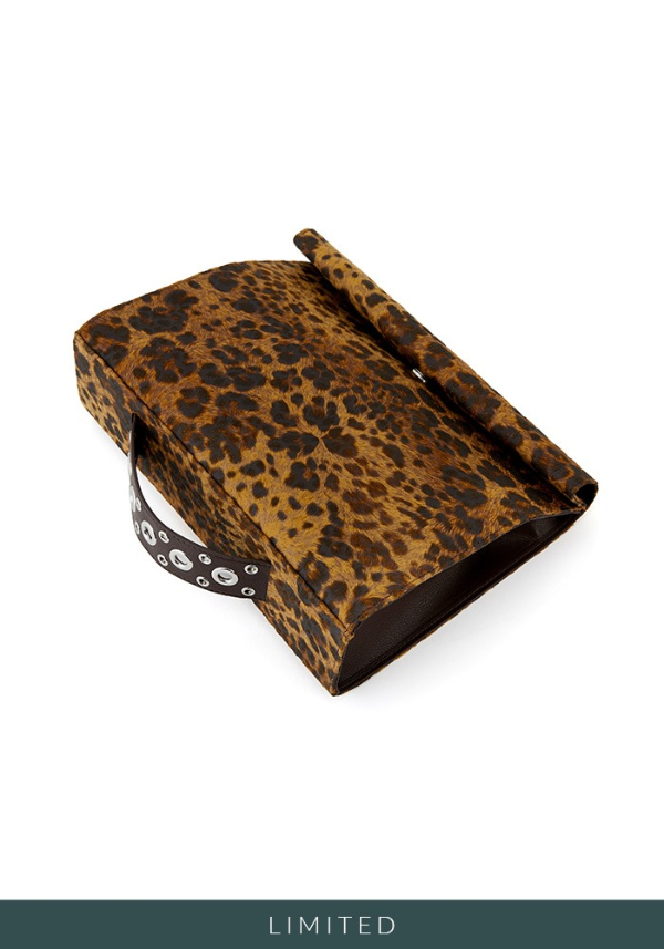 SHOPPING BAG CLUTCH (LEOPARD)