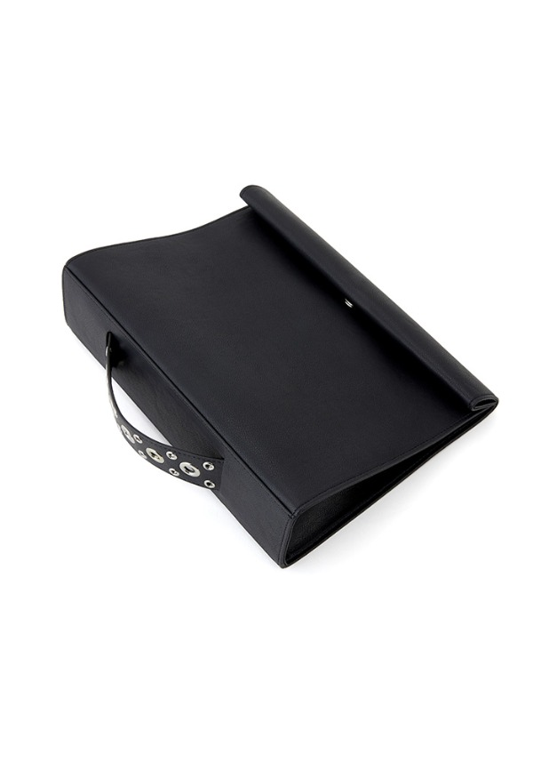 [전효성 착용] SHOPPING BAG CLUTCH(BLACK PEPPER)