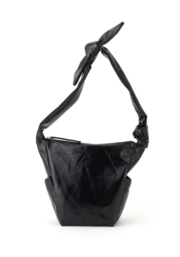 REBORN BAG SMALL(SHINY BLACK PEPPER)